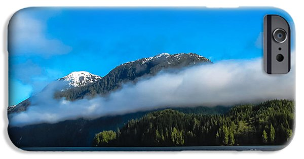 East Cracoft Island iPhone Cases - BC Coastline iPhone Case by Robert Bales