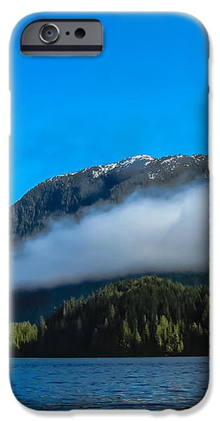 BC Coastline iPhone Case by Robert Bales