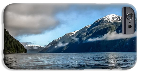 East Cracoft Island iPhone Cases - BC Inside Passage iPhone Case by Robert Bales