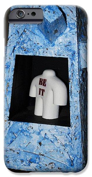 Be It iPhone Case by Daniel P Cronin