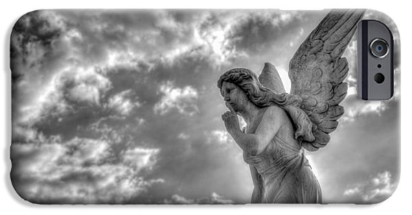 Heaven iPhone Cases - Be Silent iPhone Case by Andres Leon