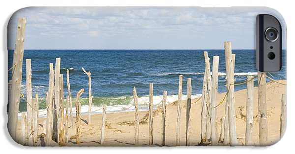 Chatham iPhone Cases - Beach at Cape cod iPhone Case by Patricia Hofmeester
