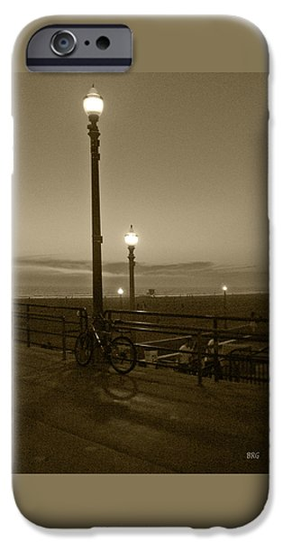 Beach At Night iPhone Case by Ben and Raisa Gertsberg