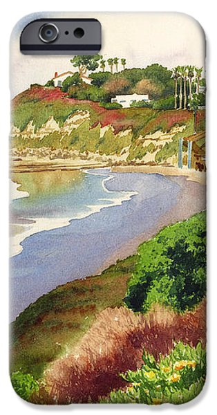 Beach at Swami's Encinitas iPhone Case by Mary Helmreich