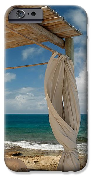 Beach Cabana  iPhone Case by Amy Cicconi