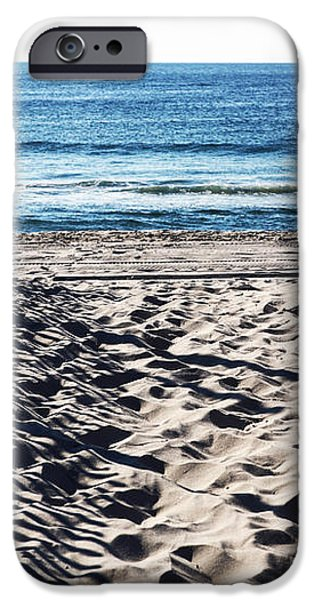 Beach Entry iPhone Case by John Rizzuto