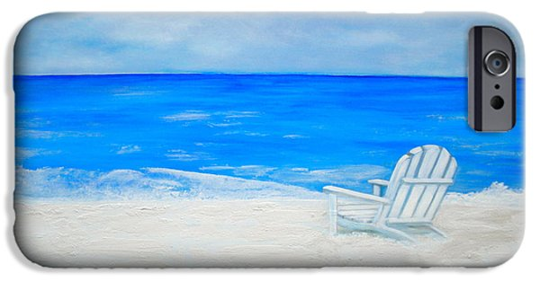 Debi Pople iPhone Cases - Beach Escape iPhone Case by Debi Starr