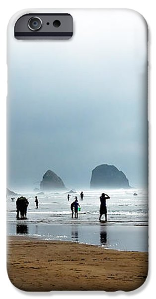 Beach Fun at Ecola  iPhone Case by Robert Bales