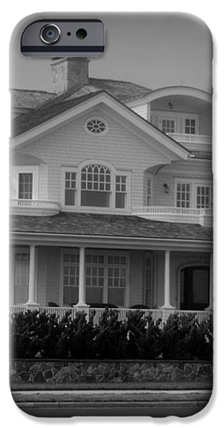 Beach House in Spring Lake - Jersey Shore iPhone Case by Angie Tirado