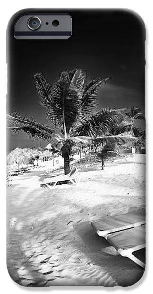 Beach Lounging iPhone Case by John Rizzuto