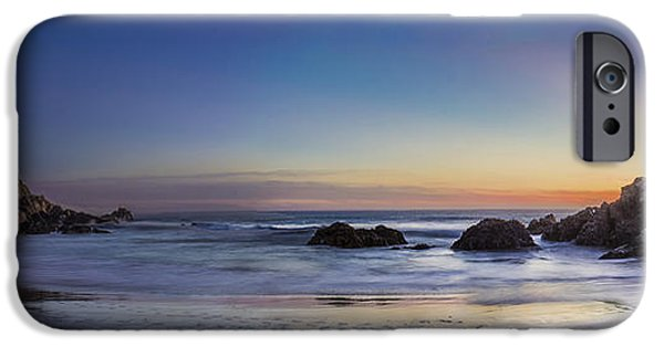Big Sur Beach iPhone Cases - Beach Oasis iPhone Case by Jeremy Jensen