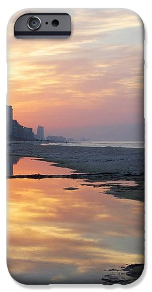 Beach Reflections iPhone Case by Michael Thomas