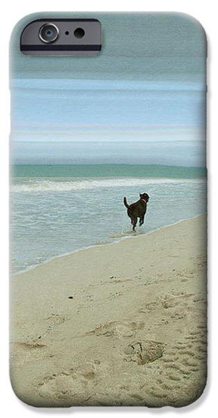 Beach Run iPhone Case by Juli Scalzi