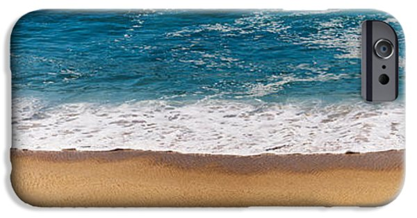 Baja iPhone Cases - Beach Shoreline In Todos Santos, Baja iPhone Case by Panoramic Images