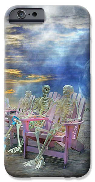 Beach-side Vigil iPhone Case by Betsy A  Cutler