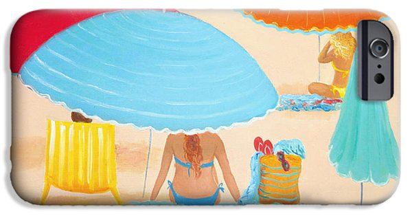 House Art iPhone Cases - Beach Style iPhone Case by Jan Matson
