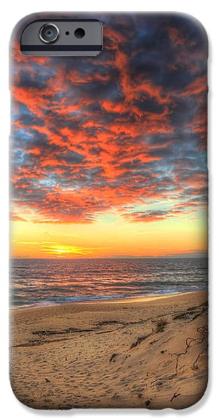 Beachcombers Sunset iPhone Case by English Landscapes
