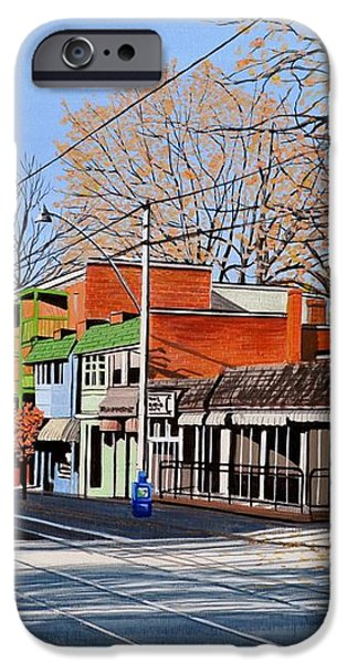 Beacher Cafe iPhone Case by Kenneth M  Kirsch