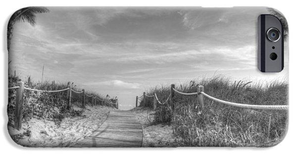 Beach Landscape iPhone Cases - Beachin iPhone Case by Shawn Dechant
