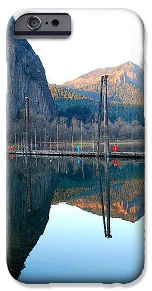 Beacon Rock Reflecions iPhone Case by Kathy Sampson