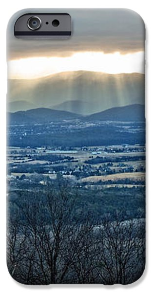 Beaming March Shenandoah iPhone Case by Lara Ellis