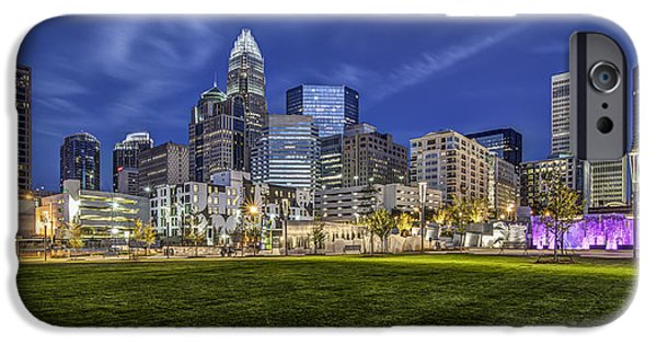 Charlotte iPhone Cases - Bearden Park iPhone Case by Chris Austin