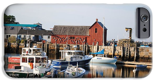 Rockport Ma iPhone Cases - Bearskin Neck iPhone Case by Joe Angers