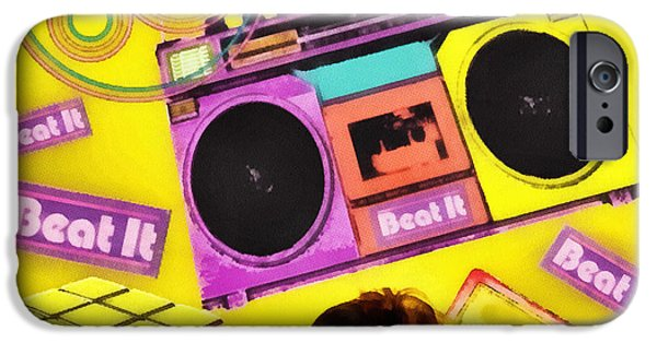 Michael iPhone Cases - Beat it iPhone Case by Mo T