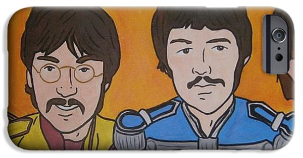 Beatles iPhone Cases - Beatles iPhone Case by Neal Crossan