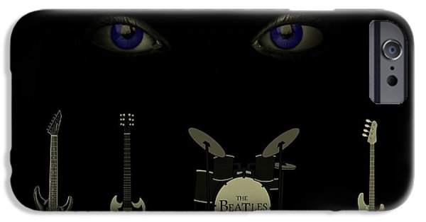 Beatles iPhone Cases - Beatles Something iPhone Case by David Dehner