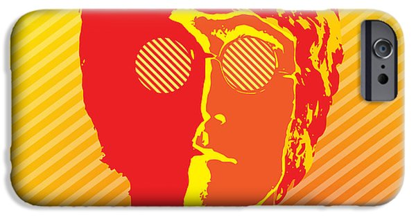 Vinil iPhone Cases - Beatles Vinil Cover Colors Project No.03 iPhone Case by Caio Caldas