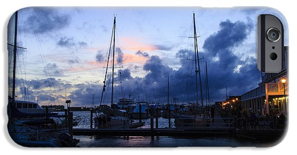 Recently Sold -  - Sailboat iPhone Cases - Beaufort In Blue iPhone Case by Robby Batte