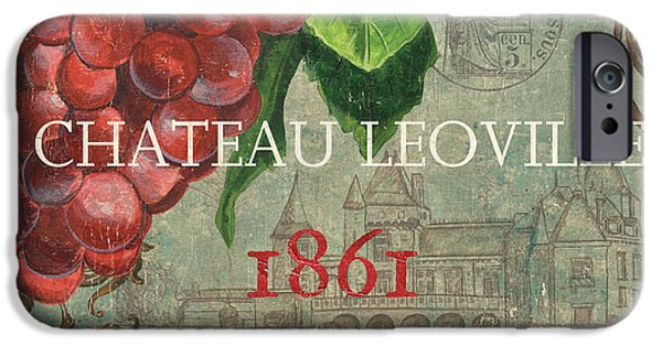 Red Wine iPhone Cases - Beaujolais Nouveau 1 iPhone Case by Debbie DeWitt