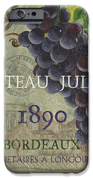Beaujolais Nouveau 2 iPhone Case by Debbie DeWitt