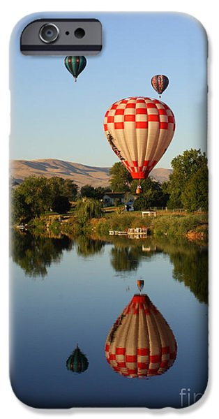 Yakima Valley iPhone Cases - Beautiful Balloon Day iPhone Case by Carol Groenen
