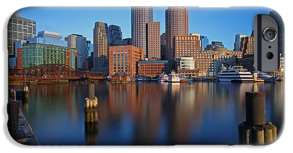 City. Boston iPhone Cases - Beautiful Boston  iPhone Case by Juergen Roth