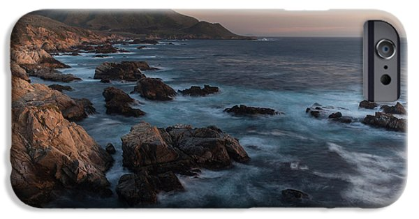 Big Sur Beach iPhone Cases - Beautiful California Coast in Spring iPhone Case by Mike Reid
