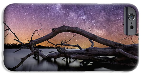 Chaos iPhone Cases - Beautiful Chaos iPhone Case by Aaron J Groen