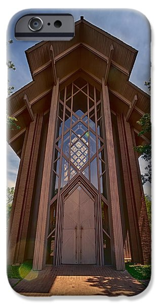 Pope iPhone Cases - Beautiful Chapel iPhone Case by Joan Carroll