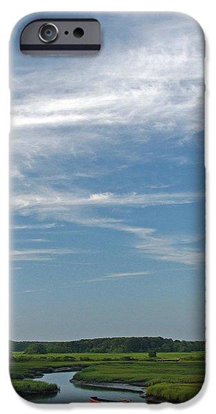 Beautiful Idyllic Cape Cod iPhone Case by Juergen Roth