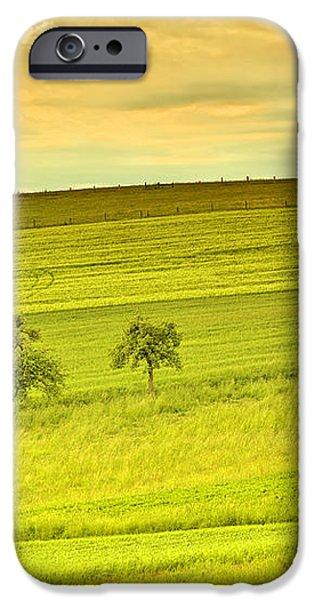 Beautiful landscape in the spring iPhone Case by Regina Koch