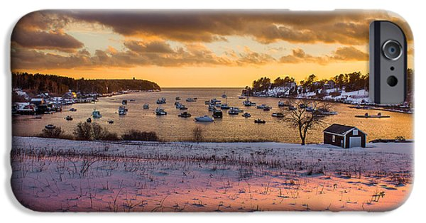 Bailey Island iPhone Cases - Beautiful Light iPhone Case by Benjamin Williamson