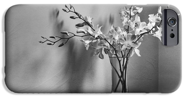 Orchid iPhone Cases - Beautiful Melancholy iPhone Case by Amy Weiss