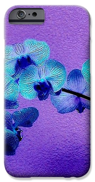 Beautiful Orchids iPhone Case by Annie Zeno