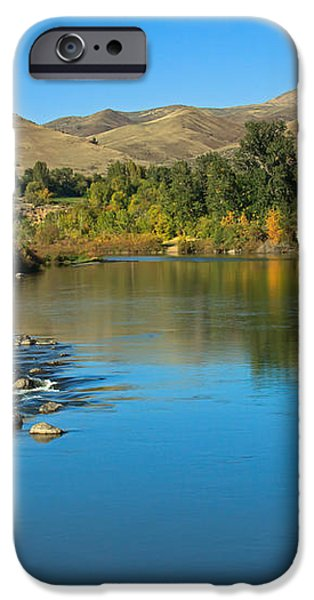 Beautiful Payette River iPhone Case by Robert Bales