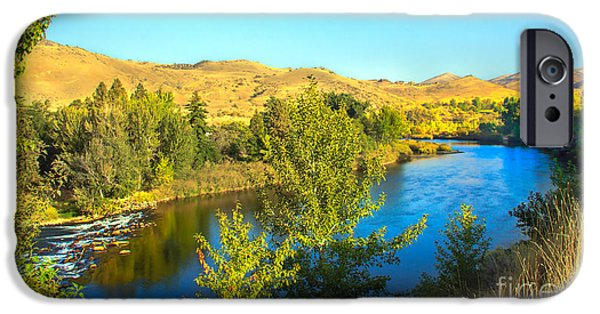 Silk Water iPhone Cases - Beautiful Payette iPhone Case by Robert Bales