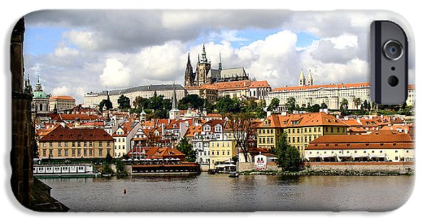 Charles River iPhone Cases - Beautiful Prague iPhone Case by Ira Shander