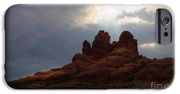 Sedona iPhone Cases - Beautiful Red Rock Country iPhone Case by Beverly Guilliams
