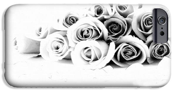 David iPhone Cases - Beautiful Roses iPhone Case by Subesh Gupta