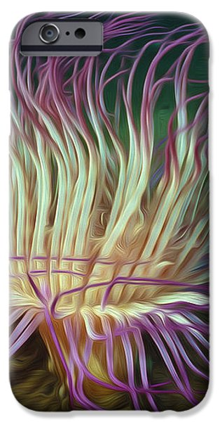 Beautiful Sea anemone 1 iPhone Case by Lanjee Chee